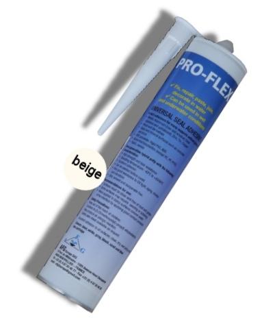 Proflex beige sable ou blanc cass colle sous l 39 eau for Colle pour liner piscine