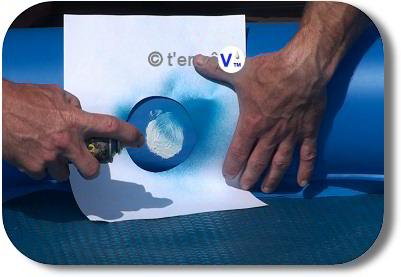 Mini bombe peinture proflex tanche peut se peindre avant for Rustine liner