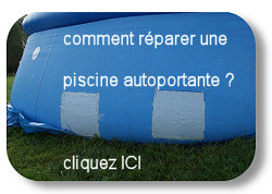 Proflex colle sous l 39 eau r paration d 39 une fuite de piscine for Reparation liner intex